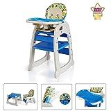 Star Ibaby 30D - Trona de bebé convertible con reclinación
