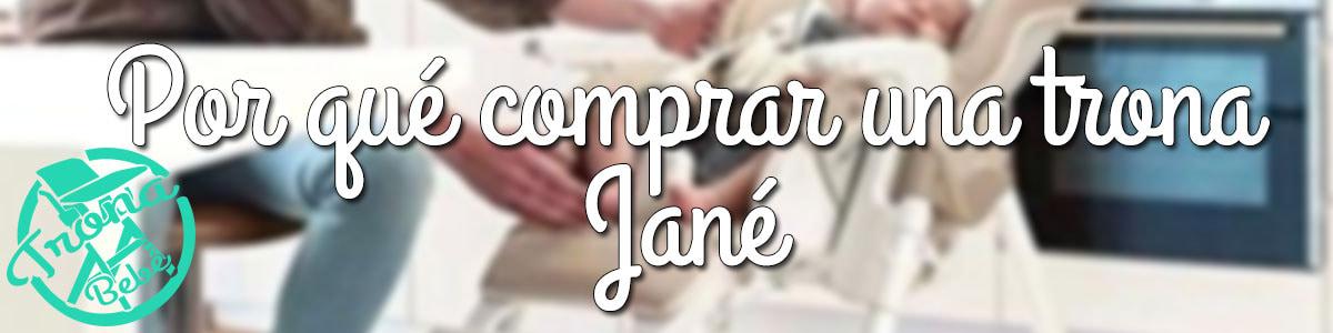 Análisis, Opiniones y Comparativa de las mejores tronas Jané 1